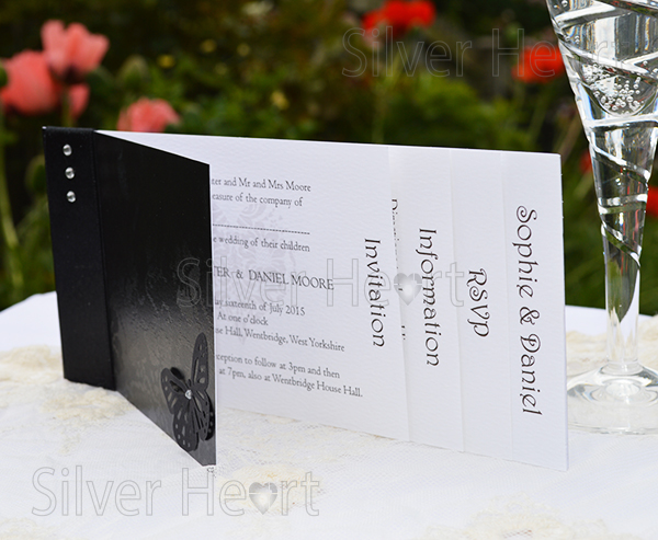 cheque book wedding invitations with inserts invitation rsvp